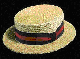 b9e19500b26b6 Loved and Loathed  The Straw Boater Hat