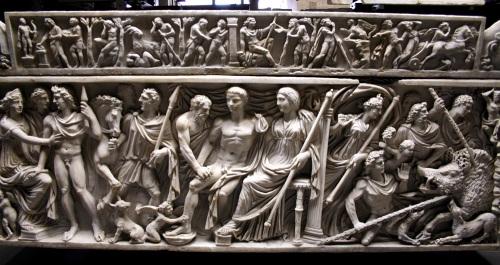 4th century Roman Sarcophagus
