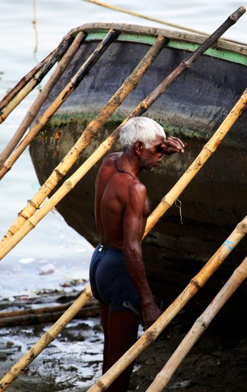 Varanasi muscle-man