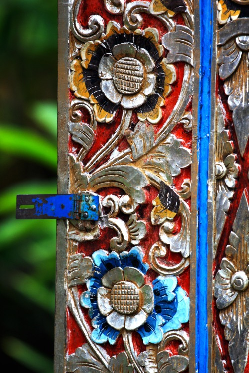Door, near Ubud