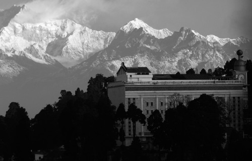 Darjeeling mountain view