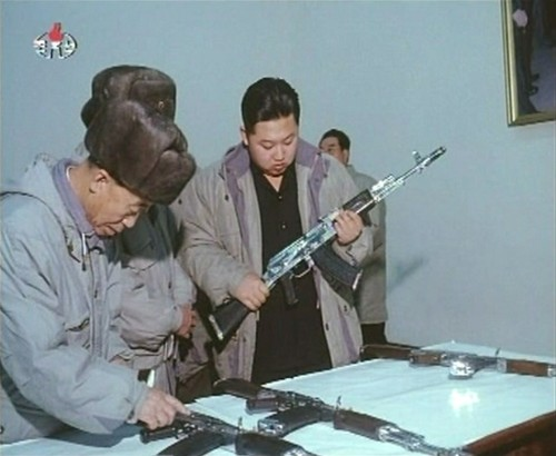 Inspecting weapons