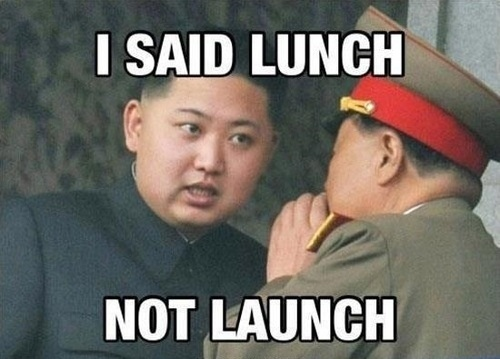 Lunch not launch