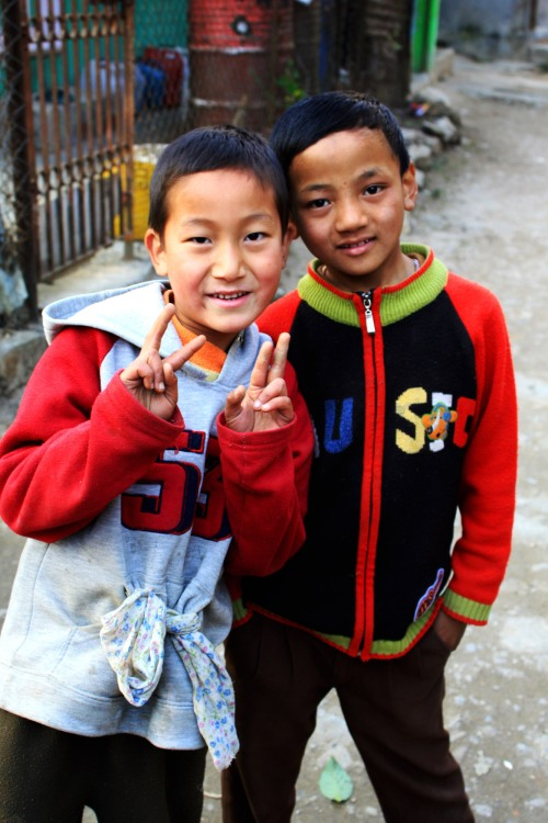 Local kids, Darjeeling