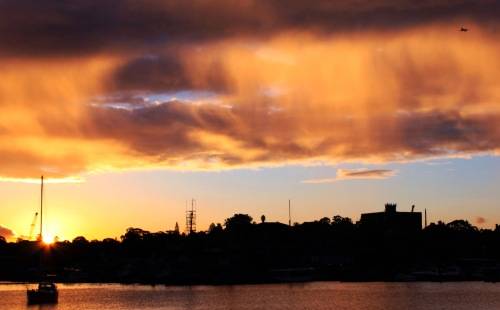 Glebe point sunset 2