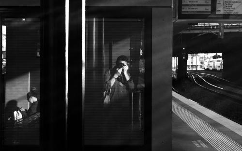 Newtown station selfie 2
