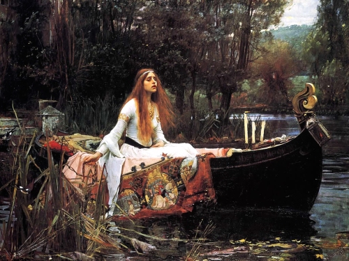 Lady of Shallot - Waterhouse