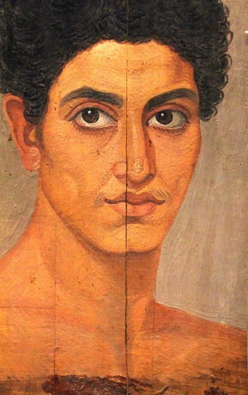0087 Romano-Egyptian portrait
