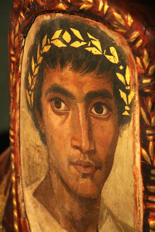 0090 Late Romano-egyptian portrait