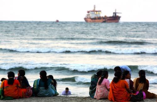 0413 Fort Kochi, beach 2