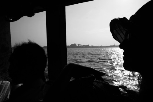Ferry crossing, Fort Kochi
