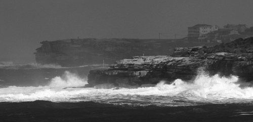 9779 Big surf off coogee