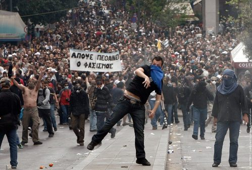 Greece riot 5