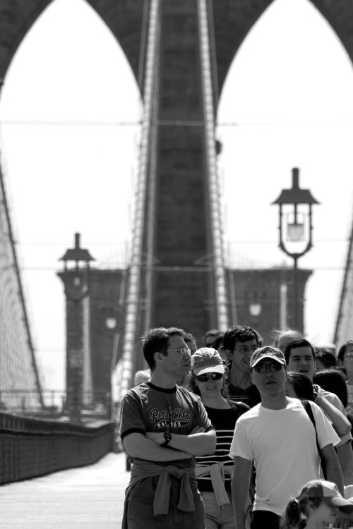 Brooklyn Bridge, New York, April 21, 2007