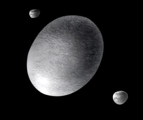 Haumea, artist's impression