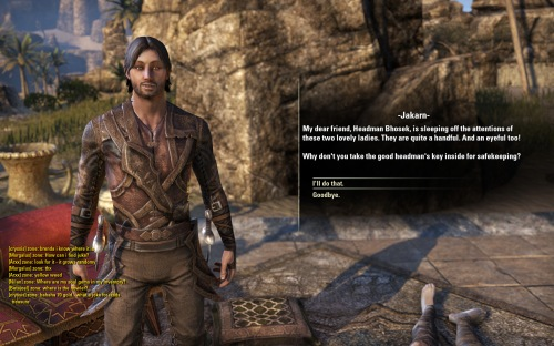 Jakarn, the loveable rogue...
