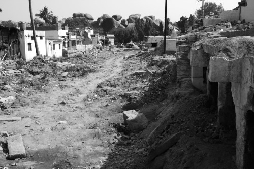 2822 Ruined street, Hampi bazaar