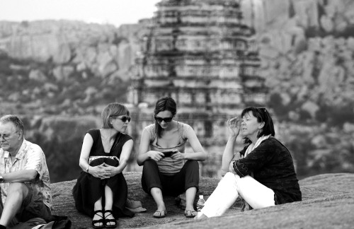 3867 Tourists, Hampi