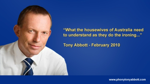 Abbott on housewives
