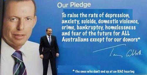 our pledgte