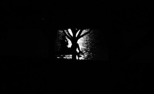 1915 Glebe Point silhouette