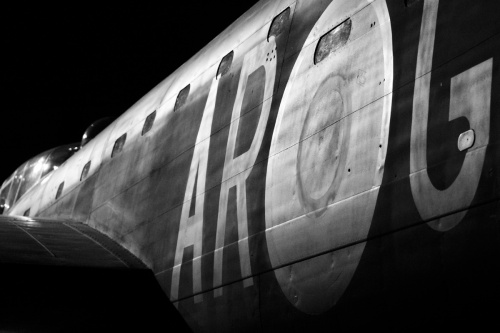 5621 Halifax bomber