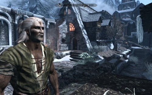 Clive Morrowind in Windhelm