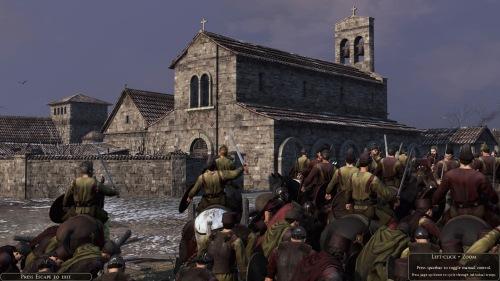 West Roman church