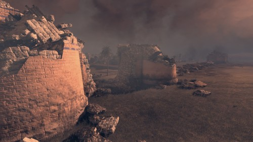Fighting over a razed city's ruins
