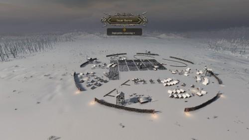 A barbarian circular fort