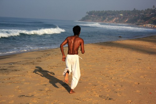 Varkala Beach, Kerala, December 24, 2012