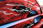 0487 Spider muralreflection
